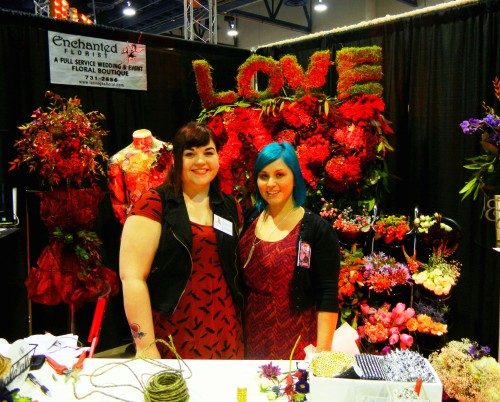 Michelle and Cat from Enchanted Florist